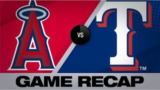 Odor Homers Twice In Rangers' 9-3 Win | Angels-Rangers Game Highlights 7/4/19
