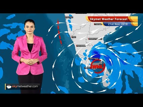 Weather Forecast for Nov 21: Heavy rains in Chennai, Tamil Nadu, Kerala; rest to remain dry