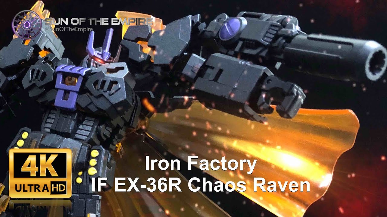 EX-36R Chaos Raven - Legends Class The Fallen Review by Sun Of The Empire