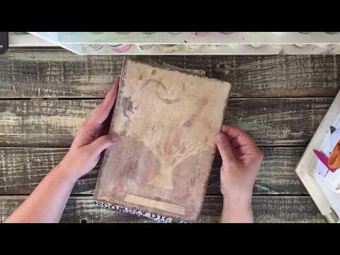 Junk Journal Vintage Earth Tones