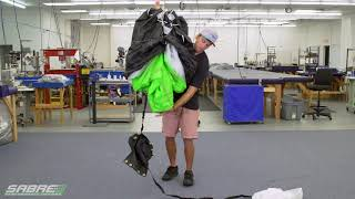 Packing a Sabre3 Parachute