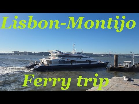 Lisbon to Montijo ferry trip on MS Chiado - Montijo Day Trip