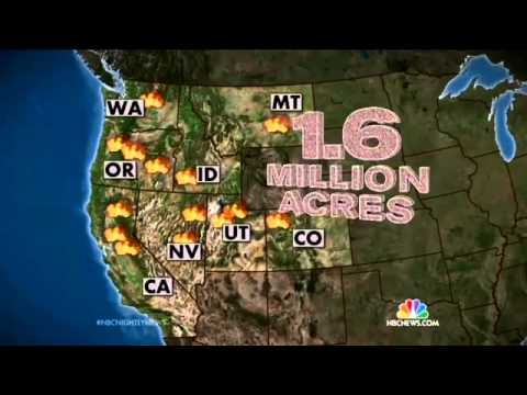 NBC: Firefighters Battling California Wildfires Are On 'Front Lines Of Climate Change'