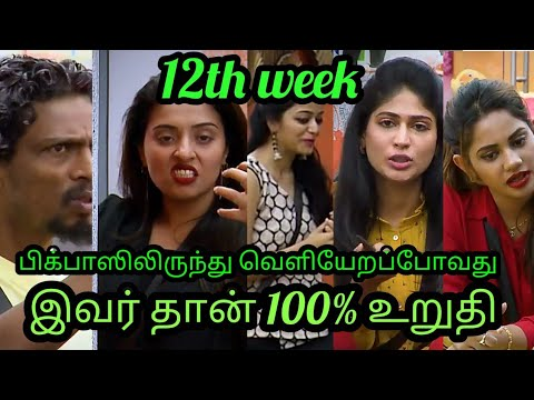 Bigg boss 2 |Tamil| 12th week|voting results| eviction process leaked