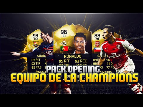RONALDOOOOO SIF !!! CHAMPIONS LEAGUE PACK OPENING | Ultimate Team FIFA 16 | DjMaRiiO
