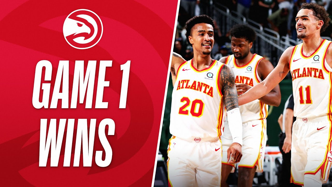 Best Of Hawks THRILLING Game 1 UPSETS This Postseason! 🐦