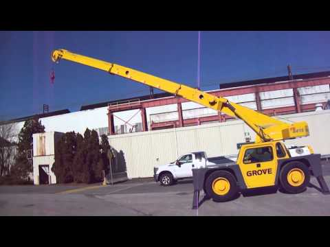 Grove YB4415  15 ton Carry Deck Crane for sale