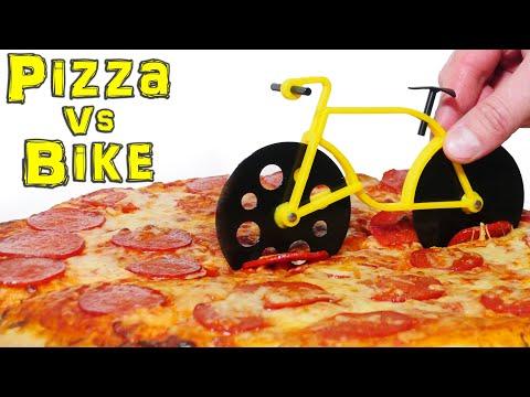 Bike Pizza Cutter & Bottle Opener Gadget Test