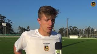 João Costa: Internacional Sub 18 pela Seleção Nacional