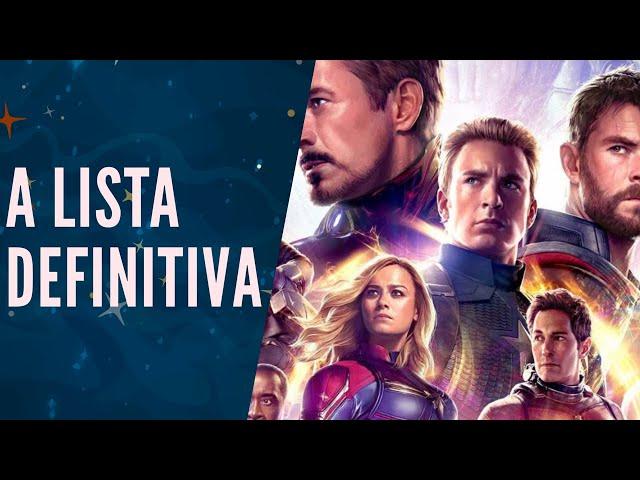 COM 7 FILMES VOCÊ ENTENDE VINGADORES ULTIMATO 🍿🎥🦸♂