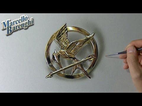 Mockingjay part 2 is coming  - Katniss pin drawing