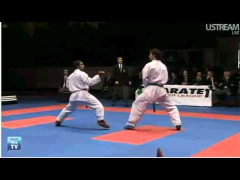 Karate 1 Paris Raphael Aghayev [AZE] vs. Nizar Halim [MA]