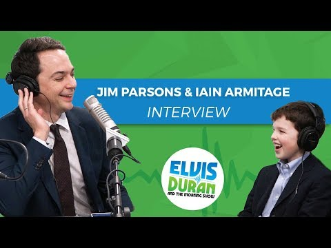 Jim Parsons and Iain Armitage on Premiere of 'Young Sheldon' | Elvis Duran Show