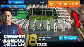DREAM LEAGUE 2018 DINHEIRO INFINITO SEM ROOT + conferindo o game + gráficos e jogabilidade