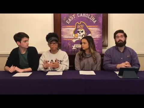 ECU Facebook Live Application and Student Life