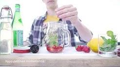 Alkoholiton kesädrinkki: Mansikka-lemonade