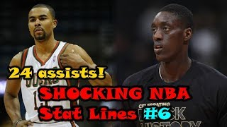 The Most SHOCKING NBA Stat Lines! - Part 6