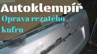 Škoda Octavia Combi 1, Oprava rezatého kufru (Car body repair)