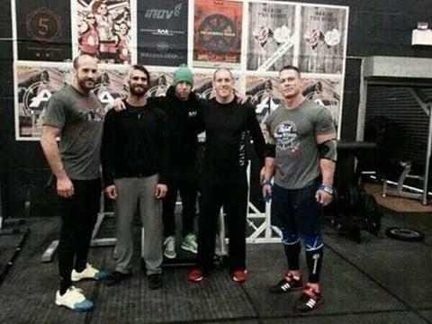 Exclusive new johncena workout full 2014 youtube - John cena gym image ...