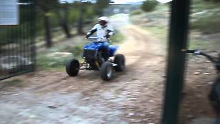 quad moteur 600 hornet