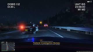 GTA 5 lspdfr mod -crash police car
