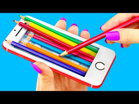 8 DIY Weird School Supplies You Need To Try / School Pranks