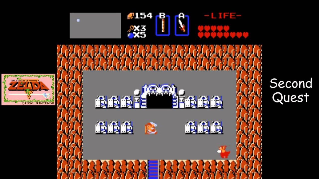 Legend of Zelda [NES] Playthrough #18, Quest 2, Level 6