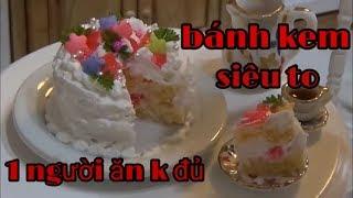 Mỹ Hương vlog- Thử làm bánh kem Siêu to