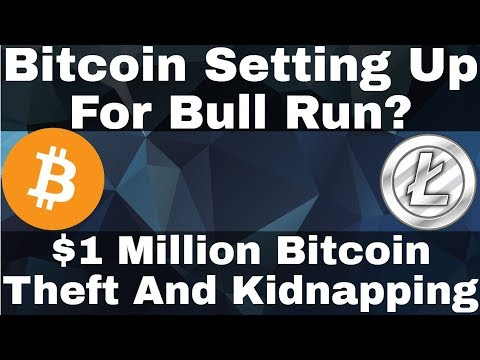 Crypto News | Bitcoin Setting Up For Bull Run? $1 Million Bitcoin Theft And Kidnapping