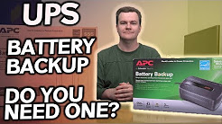 UPS / Battery Backup - Do You Need One? - How much do you need?