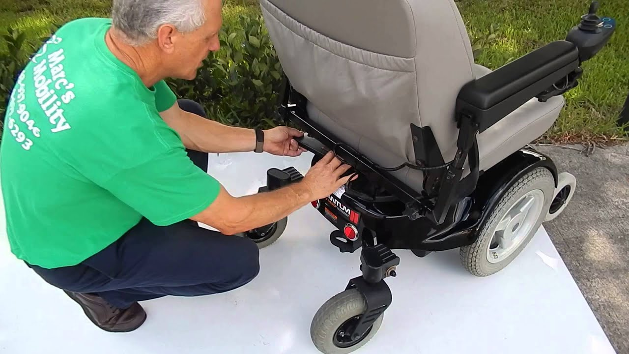 Pride Mobility Quantum 1420 Heavy Duty Power Chair by Marc s
