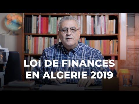 Question Economie - La loi de finance en Algérie 2019