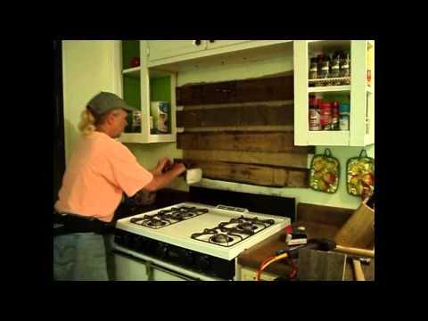 Rustic Kitchen Backsplash