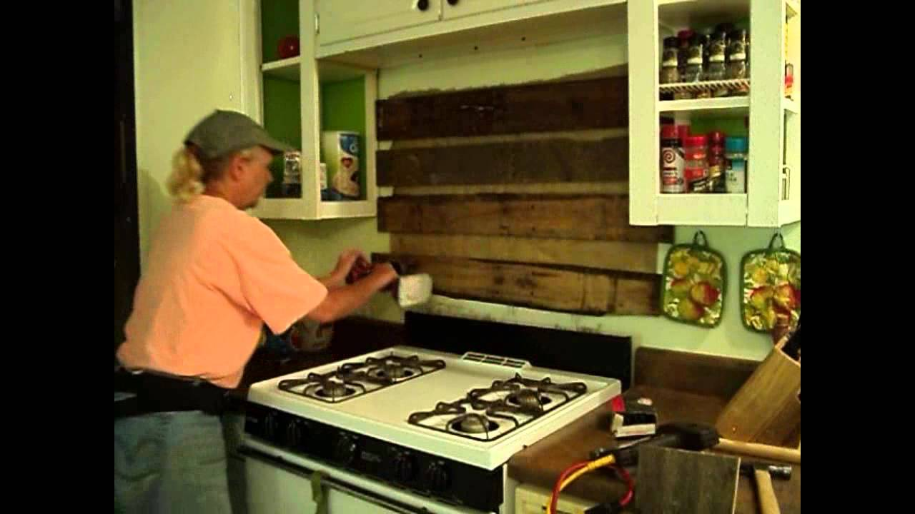 Kitchen Backsplash Rustic rustic kitchen backsplash - youtube