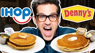 Download IHOP vs. Denny's Taste Test | FOOD FEUDS Mp3 and Videos