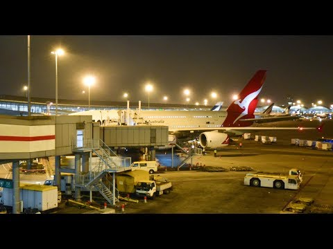 Economy Class | Qantas Airways QF128 Hong Kong to Sydney Airbus A380-800 (Review #25)