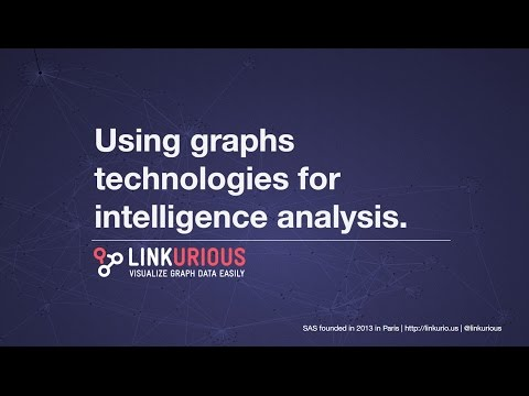 Graph-based technologies for intelligence analysis
