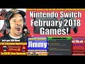 Nintendo Switch Games Coming In February 2018 mp3