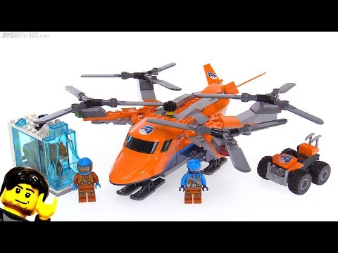 LEGO City Arctic Air Transport review! 60193