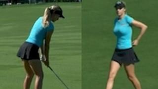 Gambar cover Paige Spiranac Golf Highlights 2015 Omega Dubai Masters LPGA