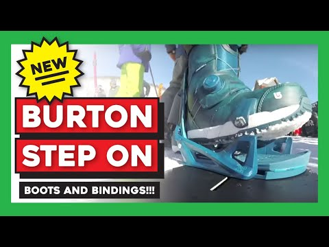 Burton Step On Snowboard Bindings Test Ride / Demo - YouTube