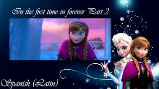 Frozen - For the first time in forever (reprise) (One Line Multilanguage Part 2)