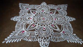 Beautiful Bangali alpona design