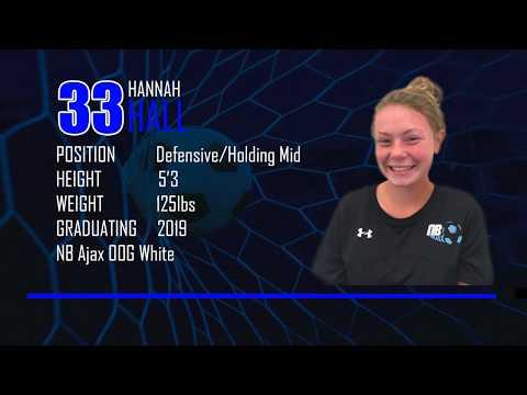 Hannah Hall 2019