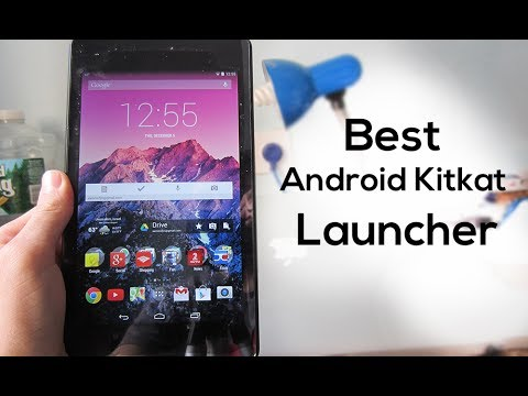 Best Android 4.4 Kitkat Launcher!