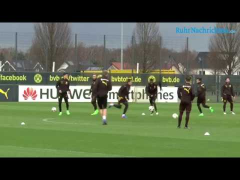 BVB-Training in Brackel am 23. Februar