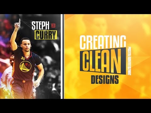 Photoshop Tutorial: Creating Clean Poster/Advertisement Designs