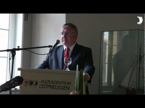 F.-W. Böld: Hommage an Wolfgang Freyberg und das Kulturzentrum Ostpreußen in Ellingen/Bayern