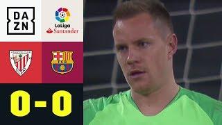 Marc-Andre ter Stegen lässt Basken verzweifeln: Bilbao - Barcelona 0:0 | La Liga | DAZN Highlights