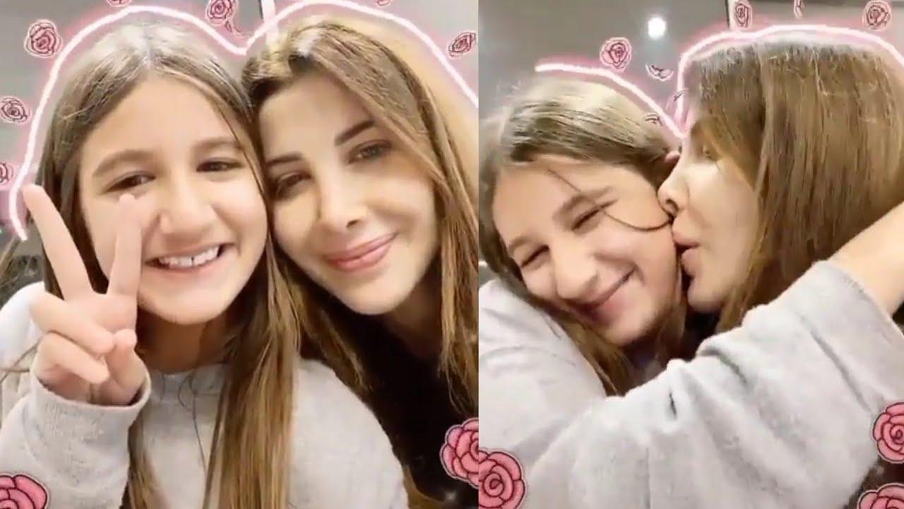 فيديو رومانسي نانسي عجرم مع ابنتها ايلا عبر تيك توك - Nancy Ajram with Daughter Ella